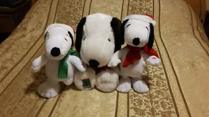 Christmas Snoopy collectibles