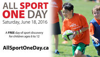 All Sport One Day Photographers and Volunteers