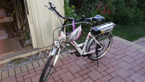 Powerrider electric bicycle used only by owner ocasionally