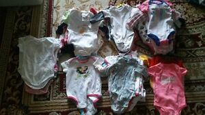 $1e+$2e Baby Girl various sizes & Brands Onzies
