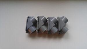 4 x Carlon PVC Pull Elbow 3/4 Inch