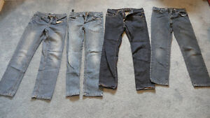 4 Pairs of Boys size 12 jeans.  Asking $12 for all.