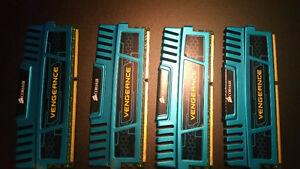 CORSAIR VENGEANCE 4x4 16GB DRAM Ram memory 1600MHz