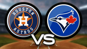 SEPT 24-26 BLUE JAYS VS. ASTROS - BUY 2 OR 4- LEVEL 100 & 200