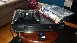 Playstation 2 FAT with XMEN Legends, SSX, and Max Payne