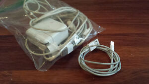 5x Apple iPhone/iPod cables + lightning cable + USB wall plug
