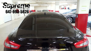 WINDOW TINTING APRIL SPECIAL!! $80 LIFETIME WARRANTY