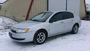 2003 Saturn Ion sedan 2.2L 4 cyl 190km auto