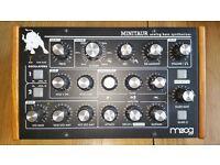 Moog miniataur analog bass synthesiser