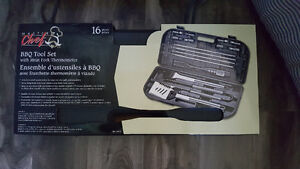 16 pc. BBQ set brand new never used