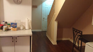 Two bedroom basement apartment available from aug1