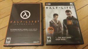 Half-Life 1 Anthology + Half-Life 2 Computer PC Valve Game