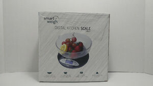 Smart Weigh Kitchen and food digital scale with removable bowl
