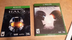 halo 5 guardians et halo master chief collection(nuef)