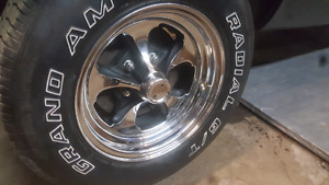 1967 mustang rims and tires