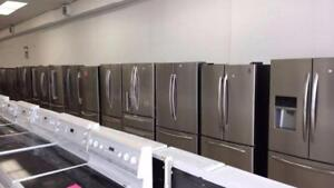 ECONOPLUS LIQUIDATION SALE ON A  SELECTION OF BRAND NEW OPEN BOX STAINLESS FRIDGES FROM  799.99 $ TX INCL