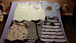 14 Baby Boy Summer Romper 1pc Suits 3-6mts