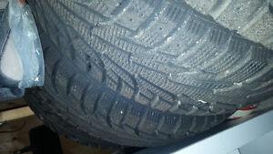 Hankook tires with rims 205/60/R15 Oakville / Halton Region Toronto (GTA) image 1