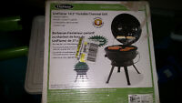 """New Uniflame 14.5"""" Potable Charcoal Gril and New Grilling Tools"""