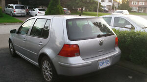 2003 Volkswagen Golf GLS Hatchback