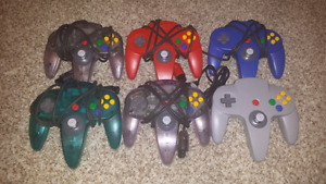Selling 6 Nintendo 64 Controllers with Near Perfect Joysticks!