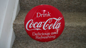NEW Assorted Ande Rooney Embossed Coca-Cola tin signs