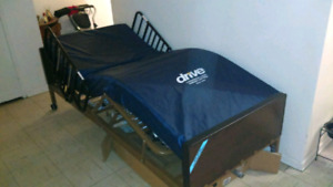 Hospital Bed - Automatic - Remote Control 800.00 Firm