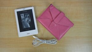 """Kobo Touch 6"""" E Ink Screen eReader with leather case"""