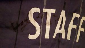Toronto Raptors Practice Jersey Autographed By  Doug Christie
