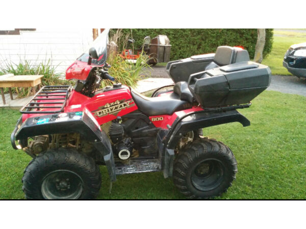 Used 1999 Yamaha Grizzly 600 4X4
