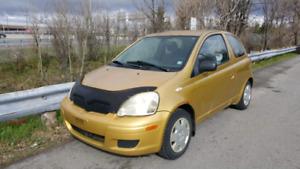 Toyota echo 2005, 1500$ (Négociable)