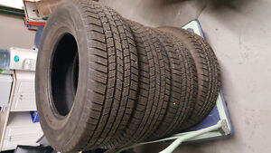 Winter Tires! 265/70/R17 Great fit for Ford truck