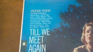LP: Till We Meet Again, Peter Todd & His Orchestra Kitchener / Waterloo Kitchener Area image 2