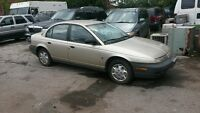 1999 Saturn S-Series SL1 Sedan***116000kms***