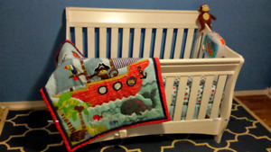 Lambs & Ivy Monkey Pirate Nautical Crib Baby Toddler Boy Bedding