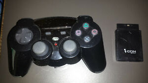 Icon Wireless Ps2 controller Like new