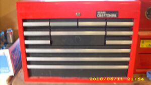 12 DRAWER CRAFTSMAN TOOL BOX