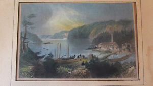 Bartlett Print Indian town (New Brunswick)