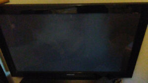 50 inch samsung t.v with sony suround sound and sub woofer