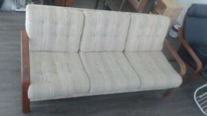 Antique teak couch $1250 OBO