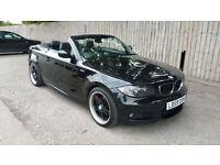2009 59 BMW 118i M-SPORT CONVERTIBLE 6 SPEED MANUAL 83k 51.4 MPG P/X