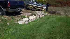 Fill Wanted clean, small rocks patio stones bricks etc