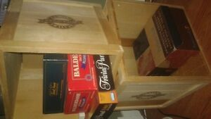 """Wooden Wine Crates 16"""" by 16"""""""
