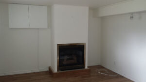 Brand new spacious two bedroom basement apt for rent Sept.1st
