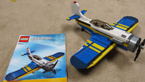Lego Airplane with moving parts!
