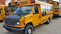 Several School Buses for sale
