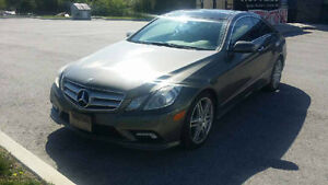2010 Mercedes-Benz E-550/AMG Sport package