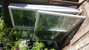 4 Patio Door screens  and tempered glass panels excellent shape
