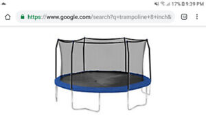 Wanted: i am looking for broken or if you don't need trampoline