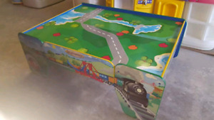 Train tables @ clic klak used toy warehouse